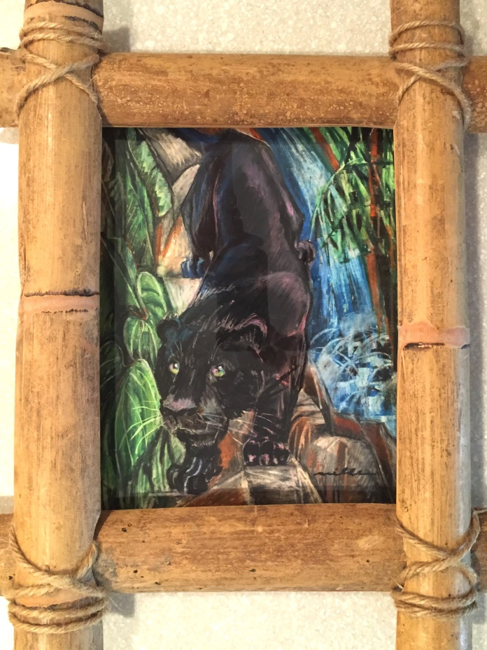 Panther 1 Framed