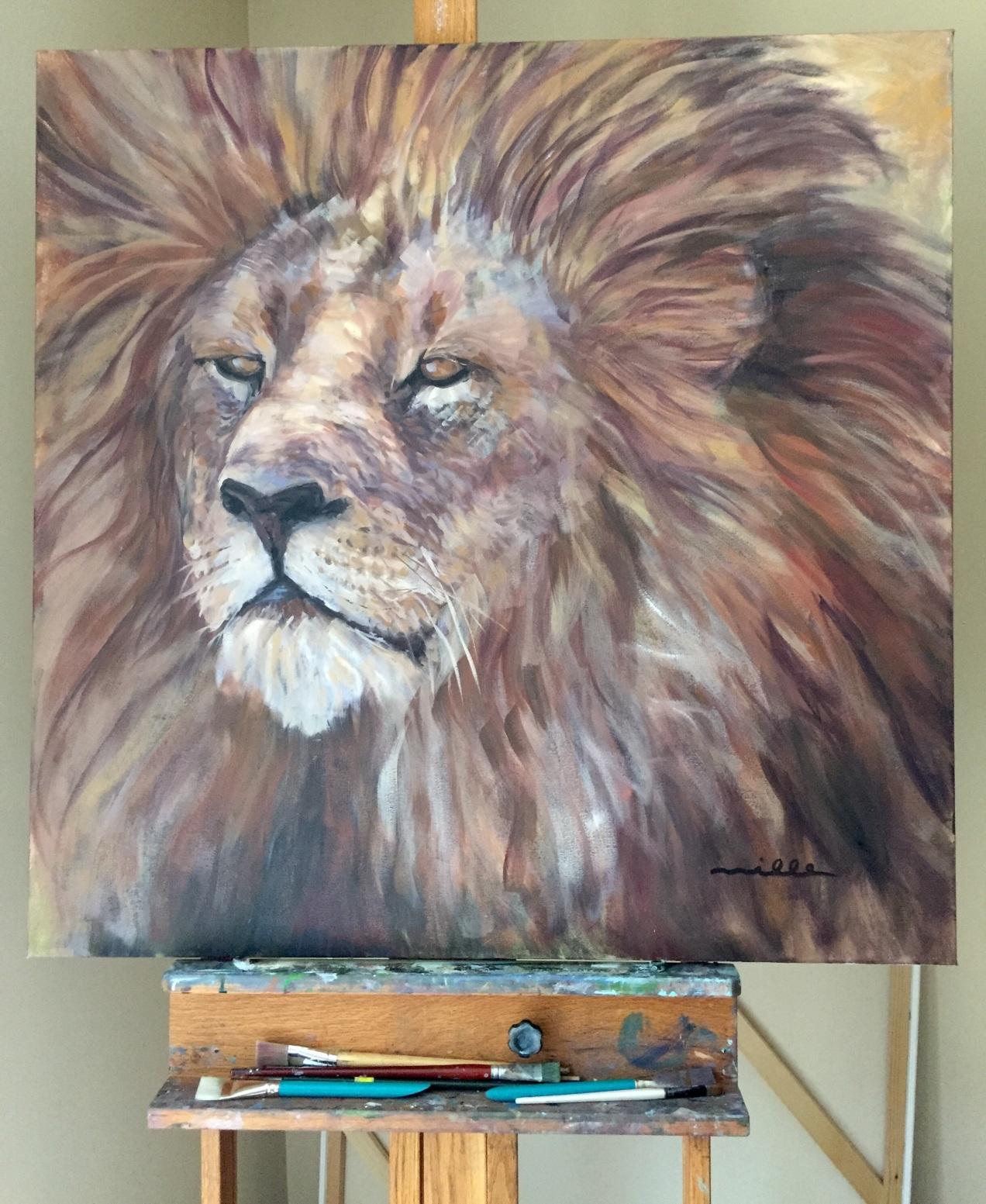 Large Lion Miller