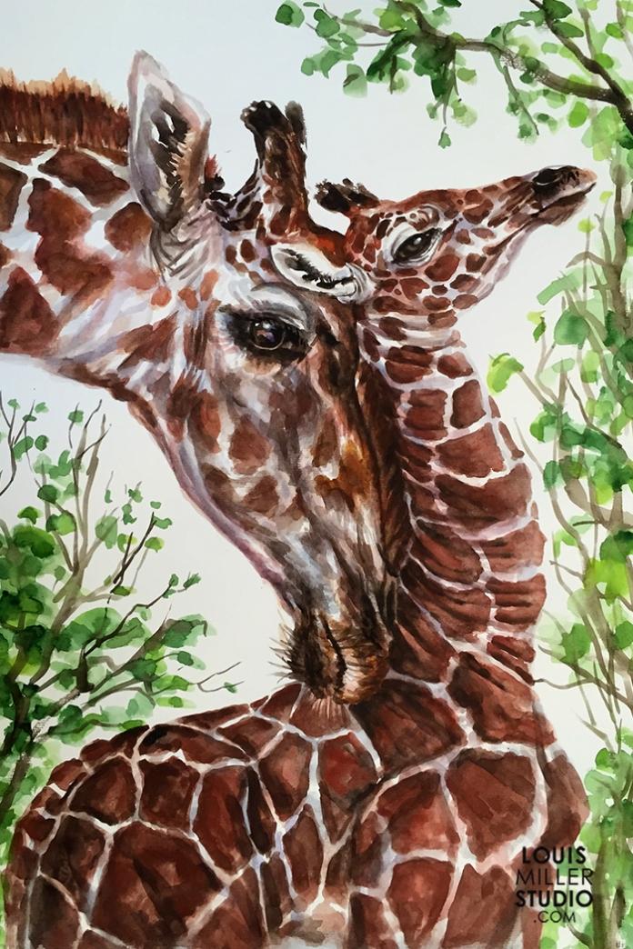 LMiller_GiraffeAndYoung